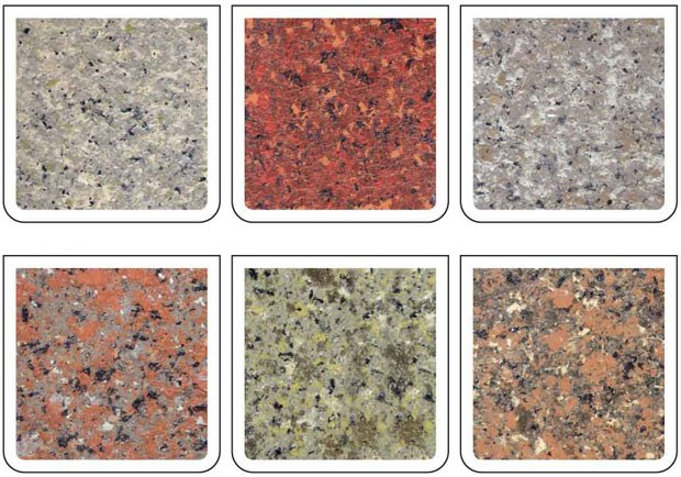 Texture acylic decoration colorful natural stone spray for Stone spray paint projects