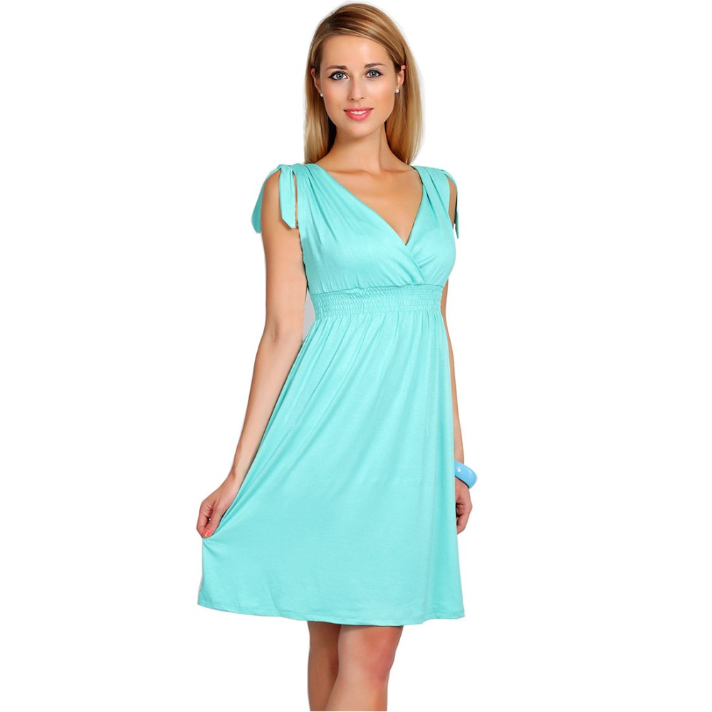8cecb9d0b5c 2016 Summer Maternity Dresses V-neck Sleeveless Knee-length Casual Clothing  For Pregnant Women Pregnancy Clothing Vestidos