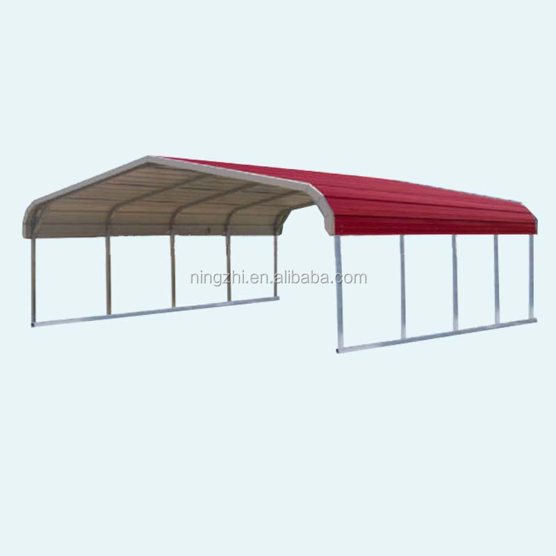 High snow load metal carport/car shelter/car shed