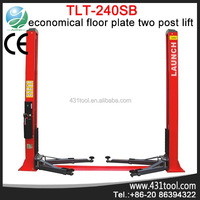Launch TLT240SB Economical Floor Plate Two Post hydraulic lift for car wash