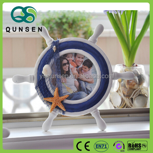 Alarm clock design wooden baby photo frame
