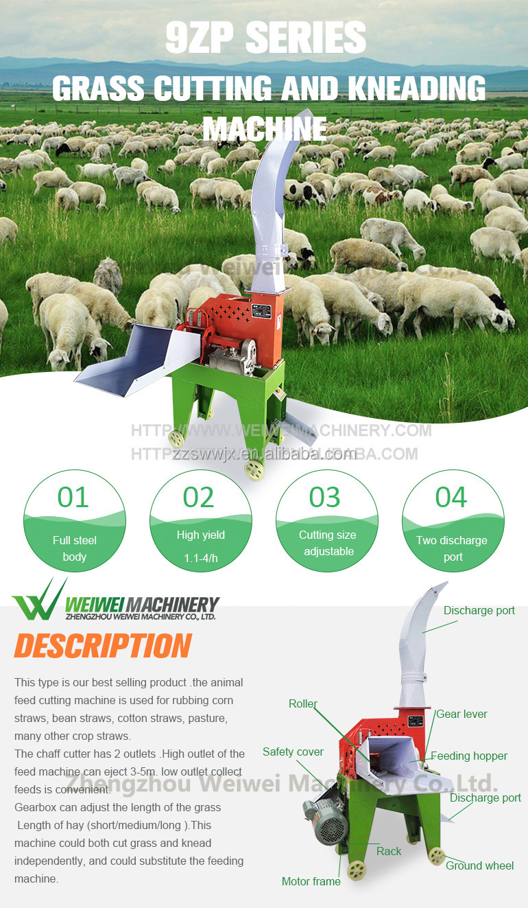 Weiwei grass cutter 3hp diesel engine
