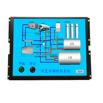 High brightness 8 inch 800x600 pixel intelligent tft color lcd display module support camera function