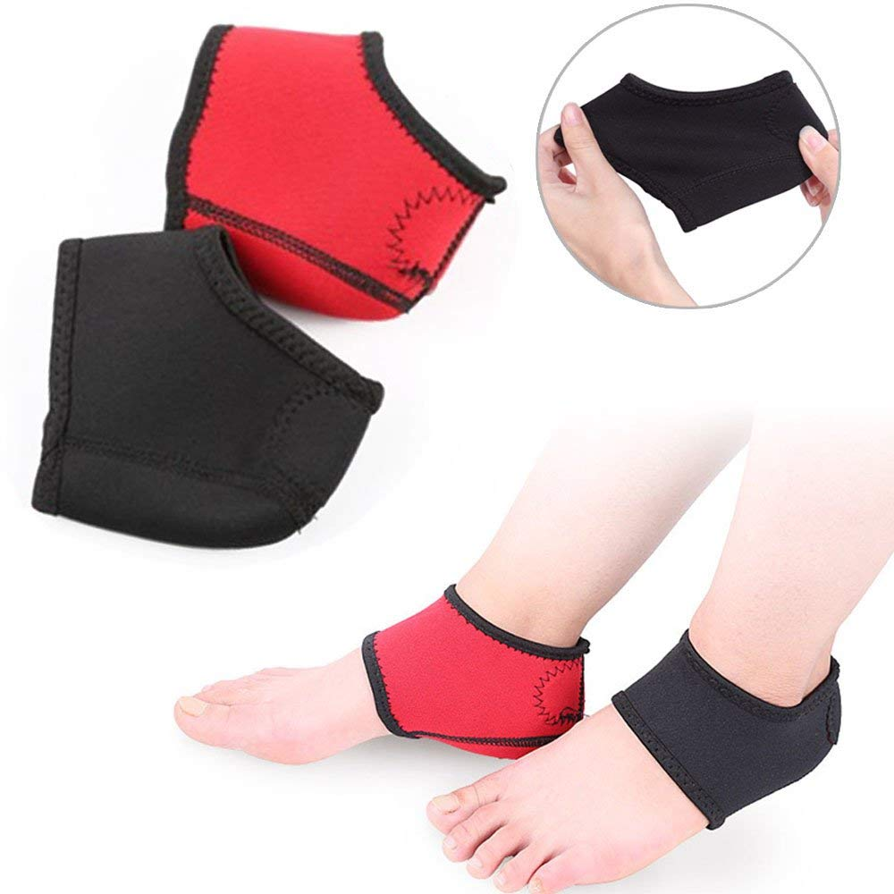 d189cb774c Plantar Fasciitis Inserts Heel Cushion Back Foot Sleeves, Heel Protectors  Cushions Shock Absorber Compression Foot