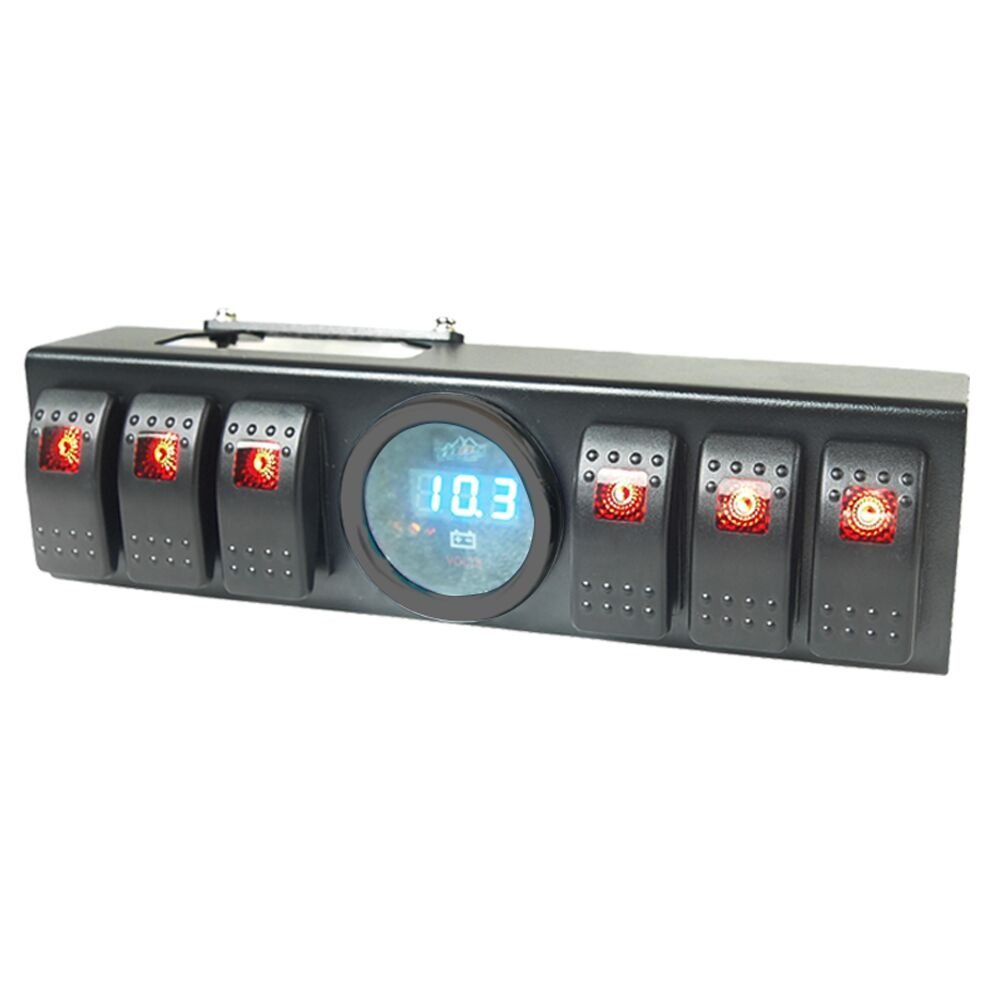 Cheap Jeep Switch Panel Find Deals On Line At Wiring Liteway Overhead 6 Rocker Pod Kit With Control And Source System