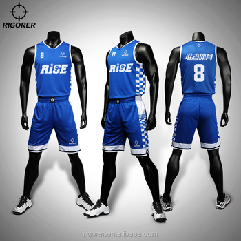 Latest Basketball Jersey Design 2018 Basketball Wear Color Combination Basketball Jersey Custom the Print