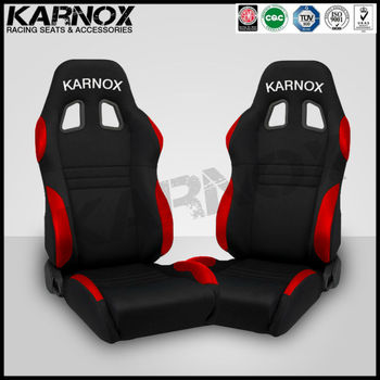 Cloth Front Seat,Adjustable Racing Seats,Reclining Sports Car Seats