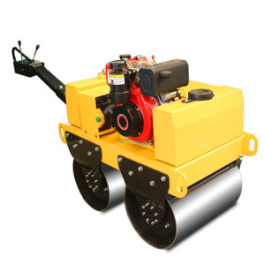 1 ton Construction Machinery vibratory compactor road roller
