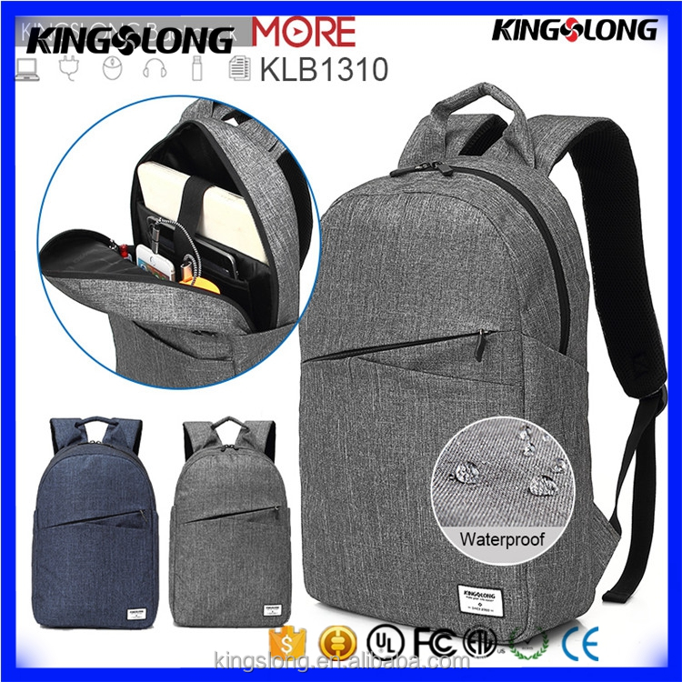 Fashion 15.6 inch anti-theft business bag backpack for laptop