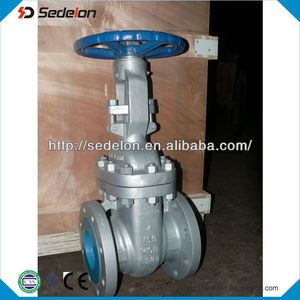 ASME B16.10 Face to Face Standard Gate Valves with Malleable Casting Iron Handwheel