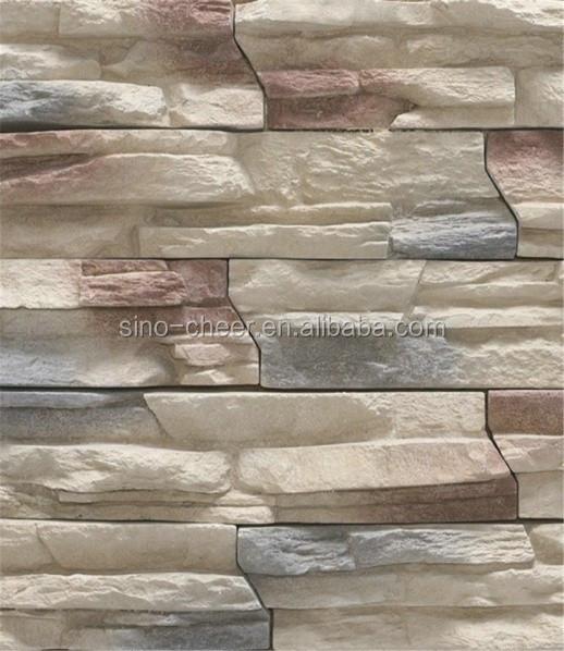 venta caliente muros de pizarra cultura moldes de piedra artificial piedras cultura para la casa de