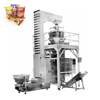 Tentoo automatic multi function chips french fries snacks packing machine