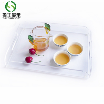 Factory Direct Custom Clear Acrylic Tray