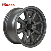Matte black rims forged wheels polished motorcycle alloy wheel rims