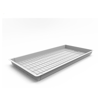 Modern 4x8 flood and drain trays flood hydroponic rolling benches