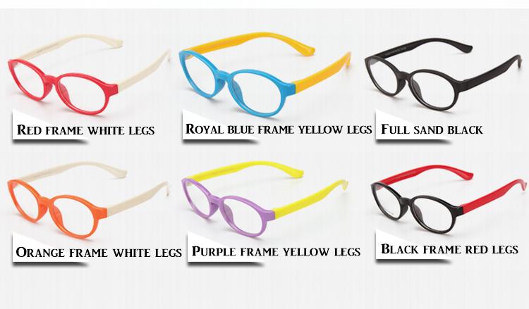 73c97229c8c Rubber Flexible Frames Glasses Optical Eyewear TPEE Reading Glasses For Kid  Children