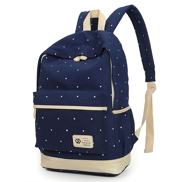 Osgoodway China Suppliers Hot Sale High Density Wear-resisting Canvas Child School Bag Manufacturer for College