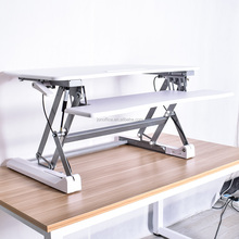 Fashion Modern Furniture Office Used Ergonomic standing desk Height Adjustable Workstation Sit Stand Desk(JN-LD07)