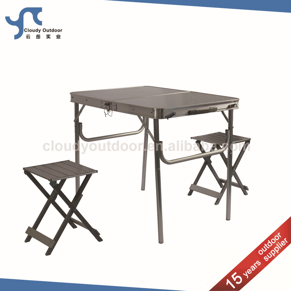 Camping Folding Table And Chairs Set Outdoor Suitcase Camping Folding Table And Chairs Set Buy