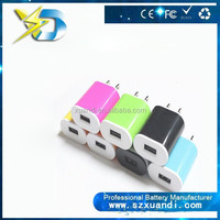 Wholesale High Quality charger adaptor 5V 1A EU AC Travel USB Wall Charger for ip 5 5s 6 for Cellphone