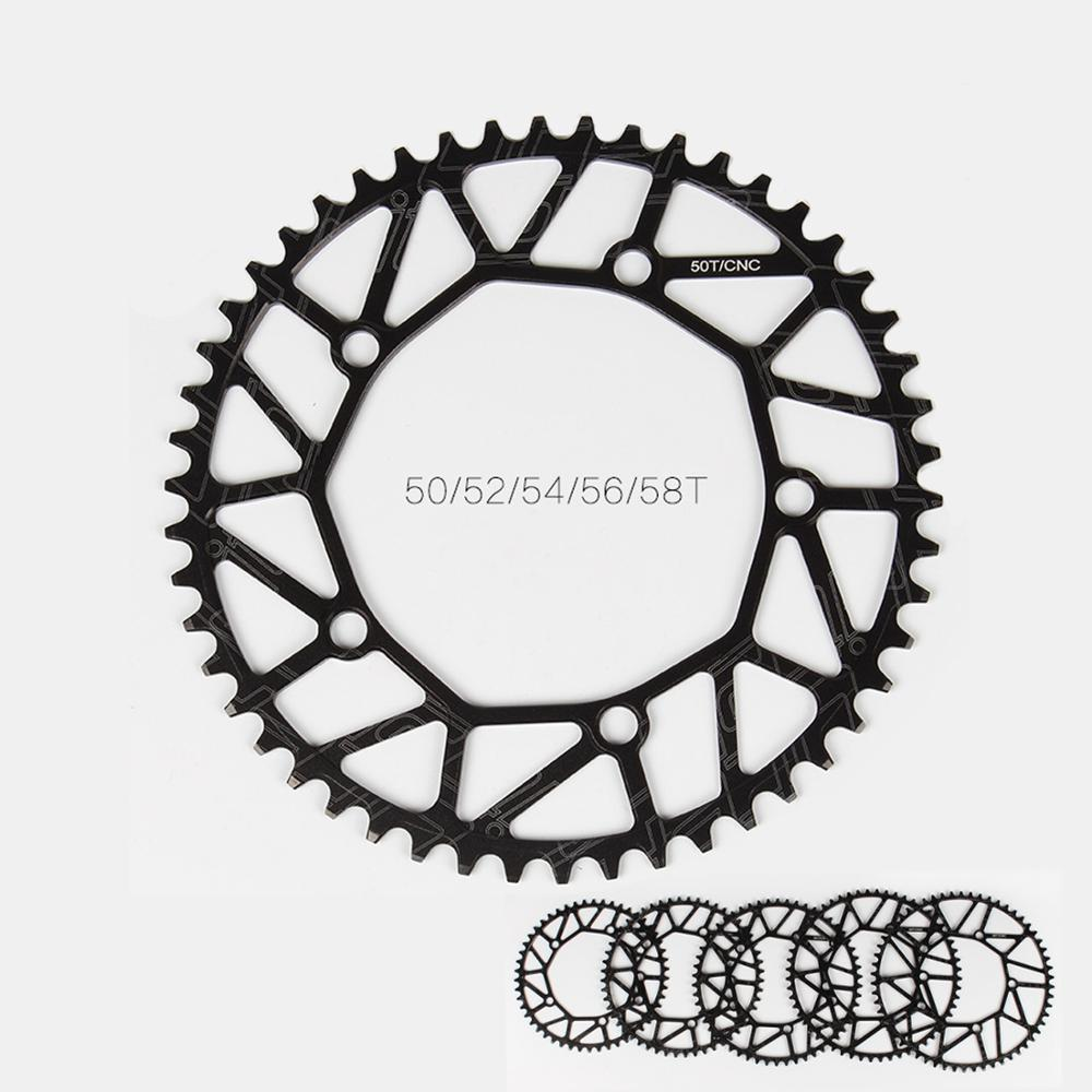 130BCD Narrow Wide Chainring Round 50T 52T 54T 56T 58T Folding Bikes Chainwheel