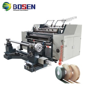 AUTOMATIC HORIZONTAL PE BOPP PVC PLASTIC FILM PAPER CLOTH NON WOVEN ROLL SLITTER DIE CUTTING SLIITING REWINDER MACHINE