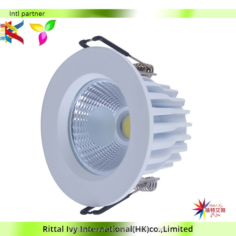 15watt Cob Led Downlight Frosted Cover Led Down Light