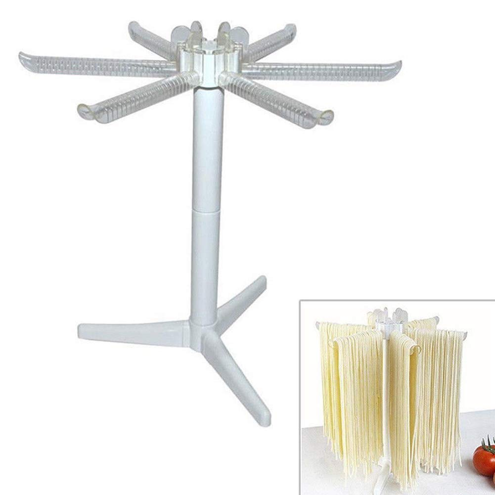 White for Hanging Spaghetti NEW Pasta Drying Rack Noodle Dryer Stand FI