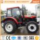 80hp ENFLY LUTONG 4 wheel drive tractor with front loader for sale
