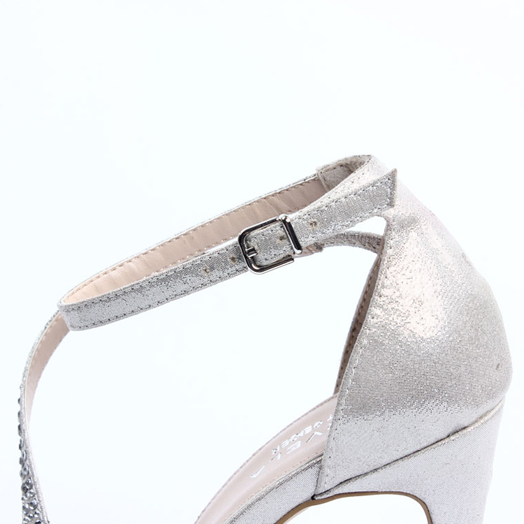 43337bff6da7e 2015 fashion elegant girls silver sandals silver sandal silver high heel  sandals