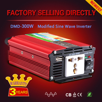 300 watt power inverter modified sine wave 12v 220v/240v inverter with CE and RoHS Certification