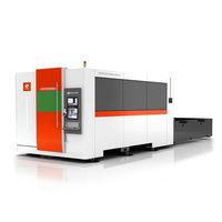 Wuhan protectivo cover fiber laser metal cutting machine for sale 3000 ipg cutting silver 3 years warranty