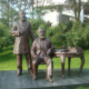 Custom New product outdoor home garden decoration metal bronze Karl Marx modern figures statue sculpture