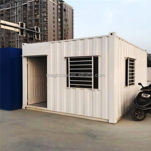High end ecological container homes flat pack 20ft 40ft container home with toilet