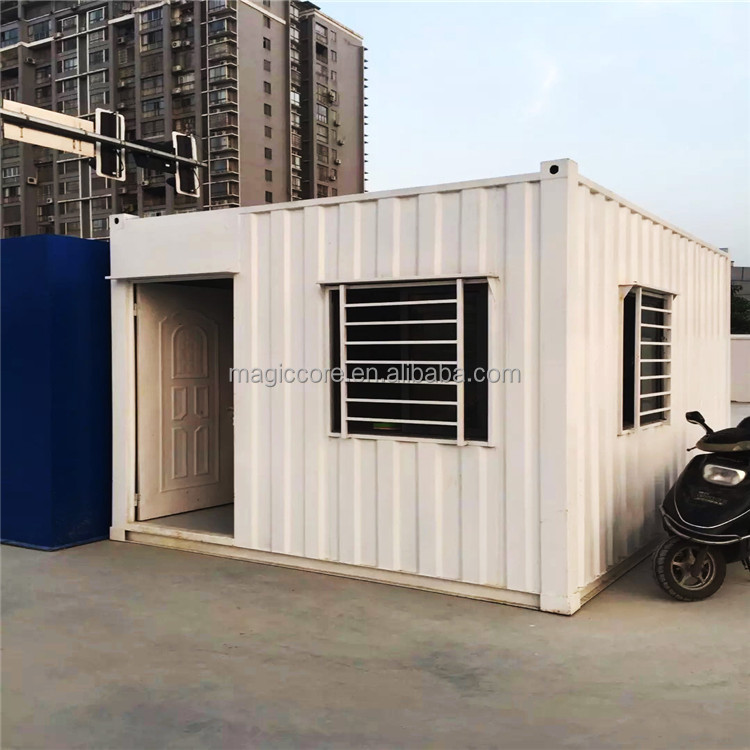 High quality ecological container home 75 m2 20ft container home with toilet