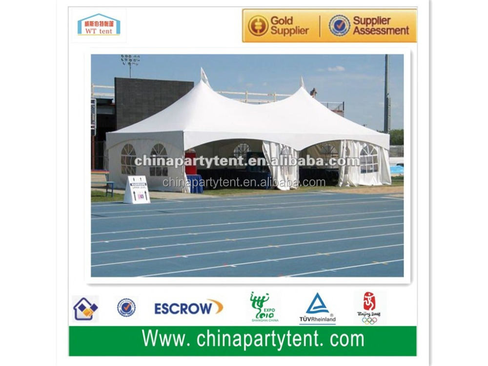 hot sale pvc 5 x 10m waterproof outdoor party tent