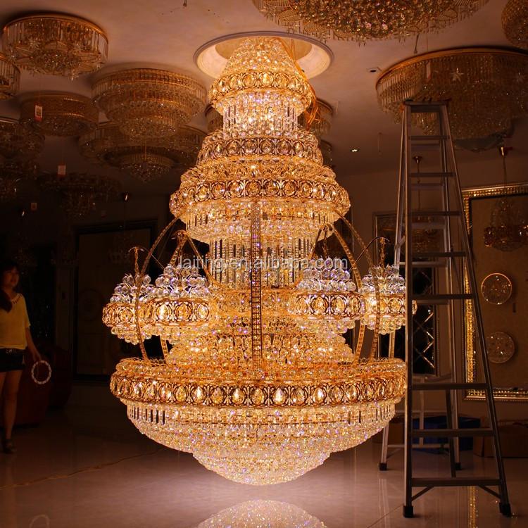 Lights & Lighting Smart Modern Crystal Chandelier Led Lustres De Cristal Hanging Lamps For Living Room Hotel Lobby Long Spiral Crystal Suspension Lamps Good Reputation Over The World Ceiling Lights & Fans