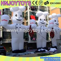 2014 New design advertising model giant inflatable man