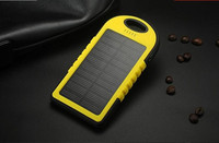 Safe and real 5000mAh solar power bank special for outdoor Solar power bank mobile phone solar charger