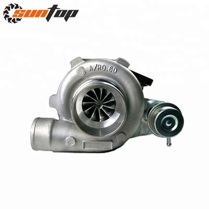 GT28 GTX2860R A/R 0.6/0.64 5 Bolts Anti-Surge Universal Performance Turbo T25 Flange