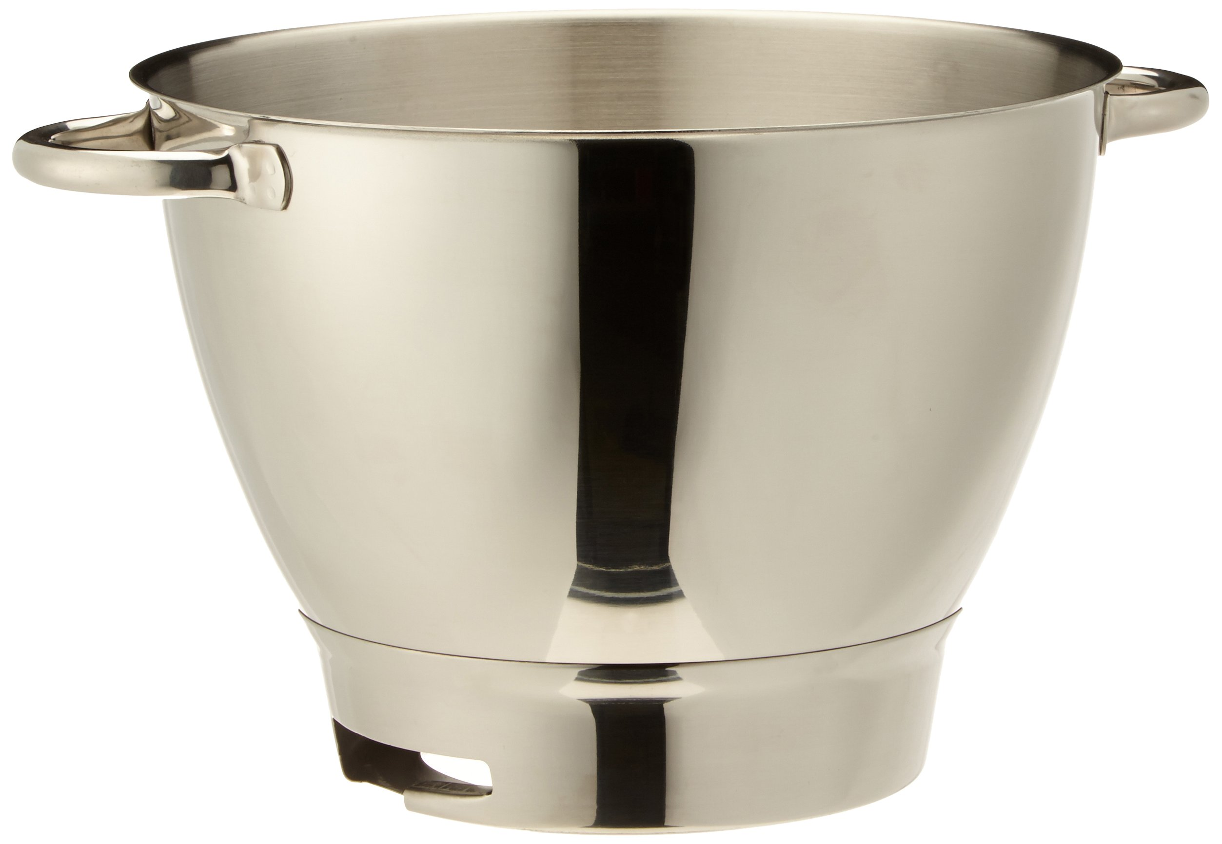 Kenwood 36385, Attachment Chef Stainless Steel Bowl with Handles, OVERSEAS USE ONLY, WILL NOT WORK IN THE US