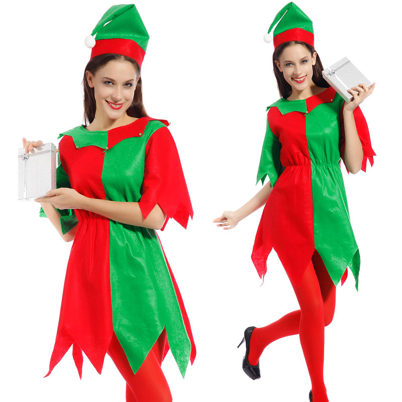 b3dc9beabd9 Get Quotations · Sexy Adult Womens Miss Santa Claus Christmas Costume Fancy  Dress Xmas Party Outfit