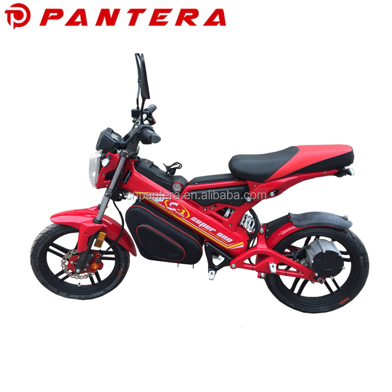 Portable Cheap New Model 1500W EEC Chinese Supplier Folding Electric Motorcycle 5000W
