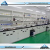 China Lab Furniture Epoxy Resin Lab Bench Top Floor Mounted Full Steel Work Bench