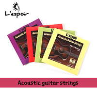 Wholesale bronze hexangular steel core Acoustic Guitar Strings withguitar string OEM for D'Addario