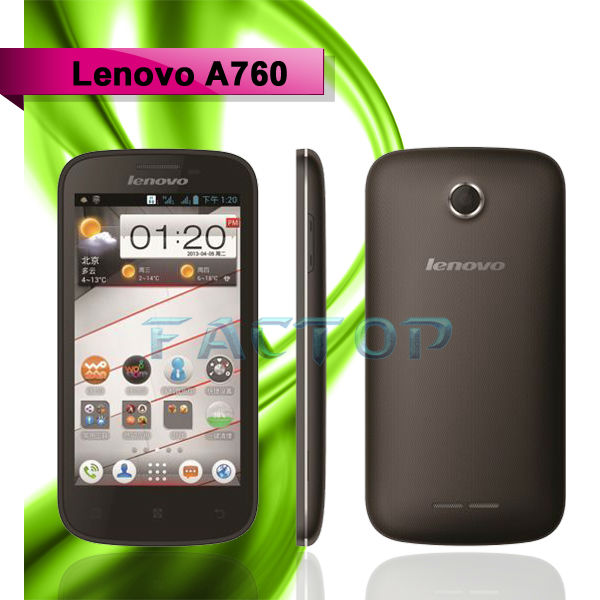 Lenovo A760 cell phone passed CE 4.5'' IPS Capacitive Screen Quad Core