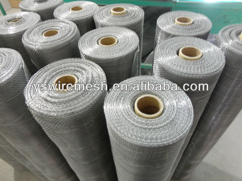 stretched aluminum expanded metal mesh