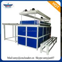 acrylic plastic sheet vacuum forming machine for sale bathtub/logo sign/car bumper