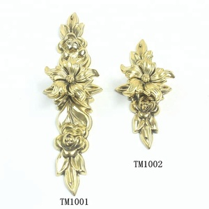 High quality copper door handles Furniture Handles & Knobs Furniture hardware Handle brass drawer pull 1001-1002