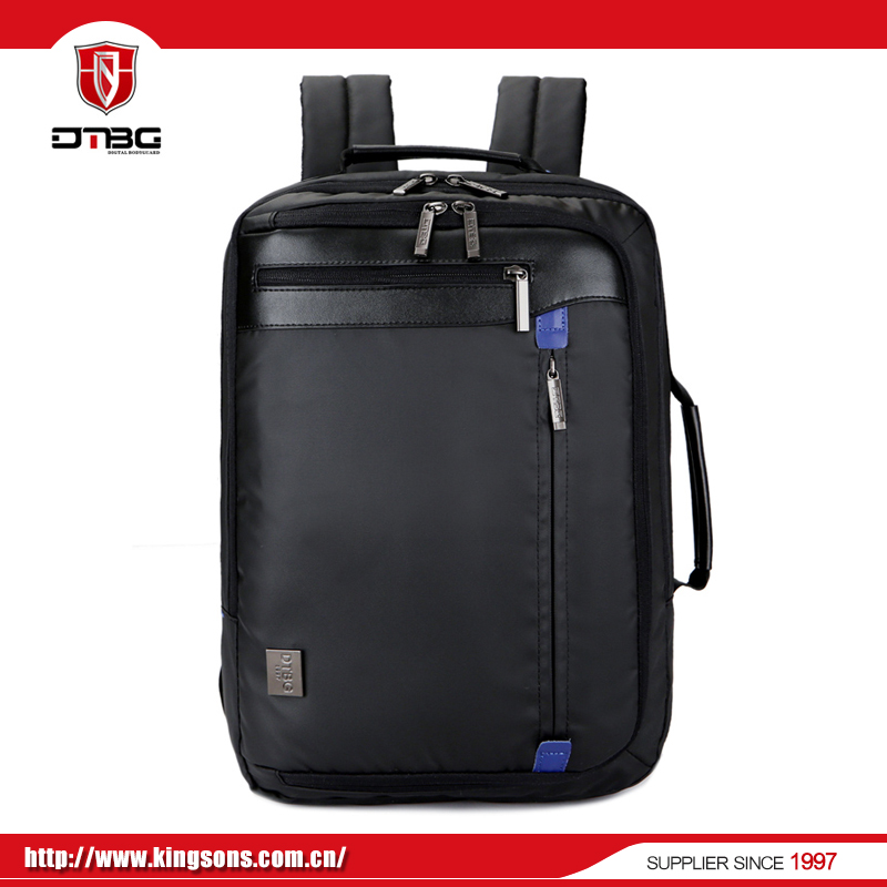 Factory sale promotional leather laptop bags backpack